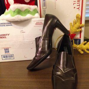 Franco Sarto Reynaldo Bronze Heels